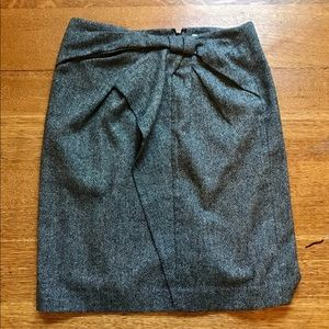 Banana Republic Tweed Grey fitted skirt